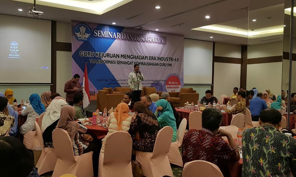 Transformasi Semangat Kewirausahaan Guru SMK Menghadapi Era Industri 4.0