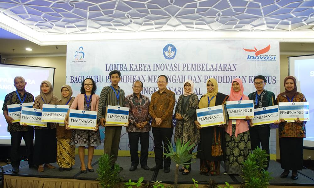 Inilah Para Pemenang Lomba Karya Inovasi Pembelajaran Bagi Pendidikan Menengah dan Pendidikan Khusus