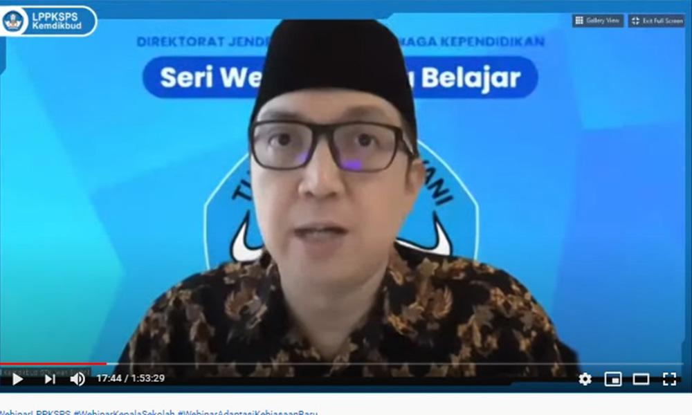 Dirjen GTK Harapkan Guru Terus Belajar dan Berbagi di Masa Pandemi