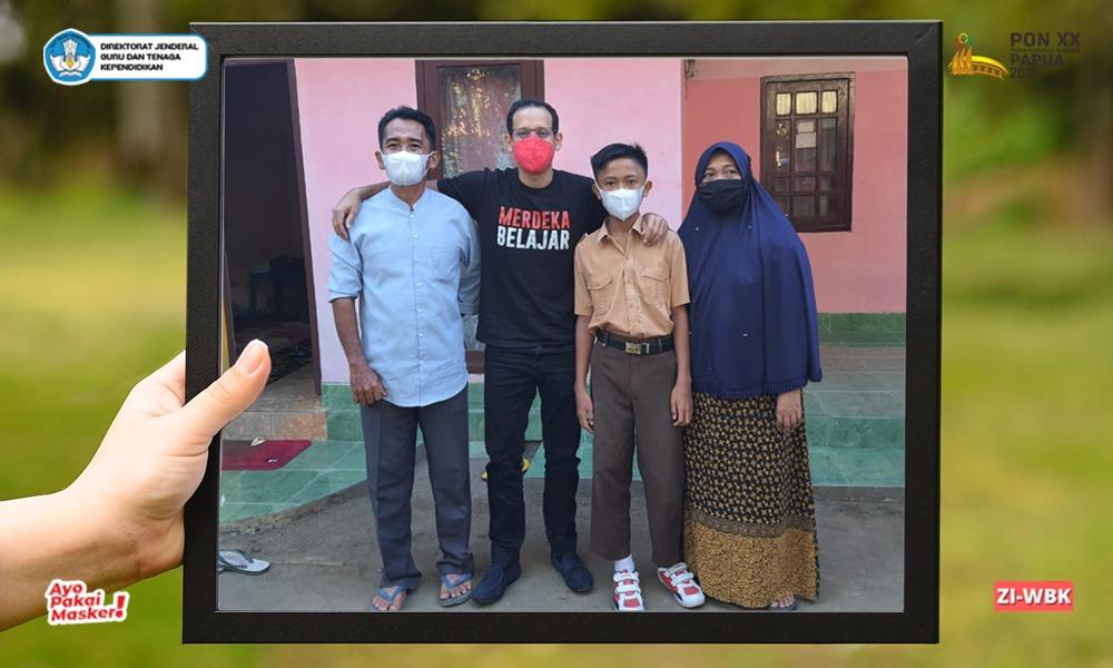 Kisah Guru Sukardi Malik Jadi Inspirasi Mendikbudristek