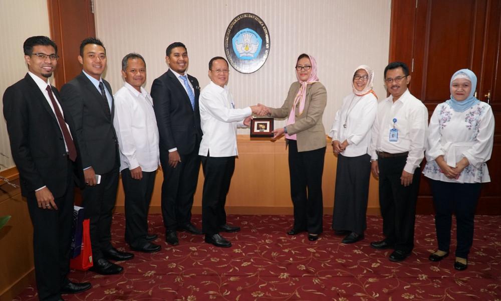 Ditjen GTK Menerima Kunjungan Kerja Ketua Pengarah Jabatan Pendidikan Tinggi Malaysia